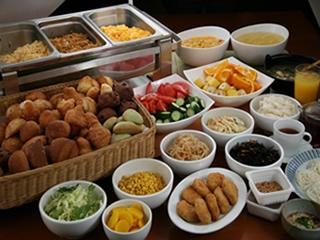 朝食バイキング例5
