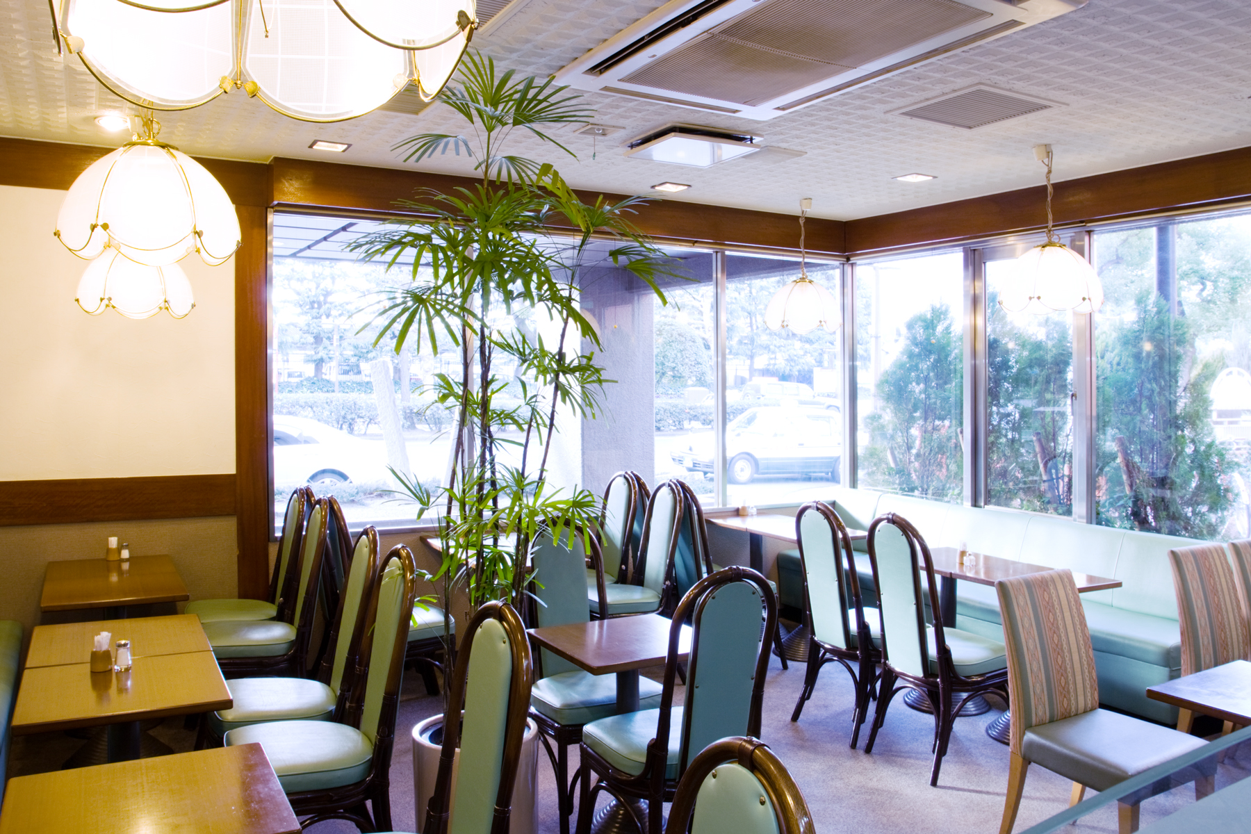ホテル1階カフェレストラン【gefen】