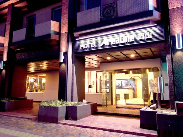 ホテル外観(夜)2